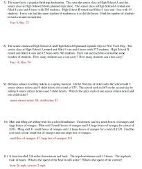 Linear-equations-word-problems-worksheet & Linear Equation Word ...