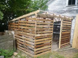 Wood Pallet House Pallet House To Save The World Or A Garden Shed Pallet Coop