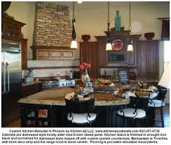 Granite Countertops And Backsplash Pictures New Phoenix Kitchen Cabinets Granite Countertops Custom Island Remodeling