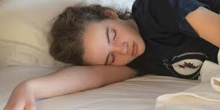 Hot sleeping teen sunday