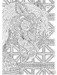 tribal coloring pages. Delighful Tribal Click The Horse With Tribal Pattern Coloring Pages To View Printable  Version Or Color It Online Compatible IPad And Android Tablets On Coloring Pages Supercoloringcom