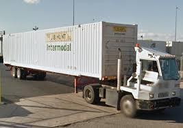 Kalmar Yard Spotter Truck W Container Trailer Kalmars Trucks