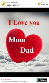 i love mom and dad wallpaper 540x903