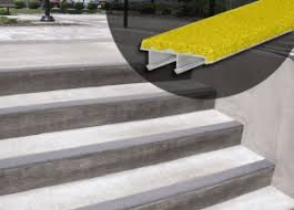 exterior stair treads and nosings. spectra® safety stair nosings exterior treads and r