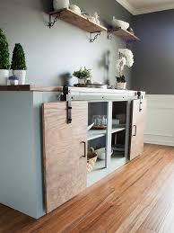 modern farmhouse furniture. Simple Tweaks For 3 Modern Farmhouse Furniture Projects: Grandy Sliding Door Buffet G