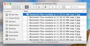 How to Batch Rename Files on Mac OS X Easily from Finder