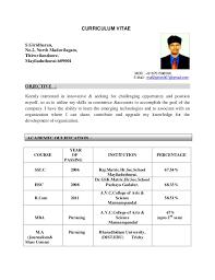 CURRICULUM VITAE S.Giridharan, No.2, North Madavilagam, Thiruvilandoore,  Mayiladuthurai Co  Curricular Activities ...