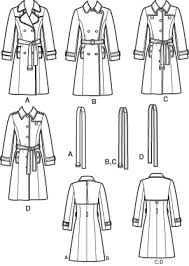 Trench Coat Pattern Magnificent Simplicity 48 Threads Lined Coat