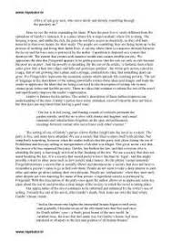professional essays on the great gatsby argumentative essay  professional essays on the great gatsby