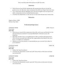 How To Write A Resume For College Amazing Write Resume Internship No Experience Sample For College Students