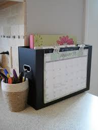 Kitchen Message Center Homeschool Room Organizing Organizing Tools Calendar File