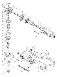 makita 9556nb spare parts part shop direct
