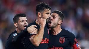 Sevilla v Atlético Madrid Match Report, 2/11/19, Primera División