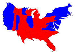 election maps Final Election Results Map this cartogram looks similar to the previous one, but it's not identical wyoming, for instance, has approximately doubled in size, precisely because of the final election results map 2016