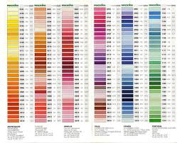 Madeira Thread Color Chart Gallery Ru 1 Madeira Dmc 363636 Embroidery