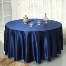 bedding marvelous navy round tablecloth 10pcs pack blue 120 inch satin tablecloths table cover for wedding