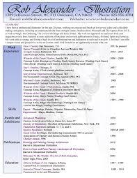 Resume Art Gallery Resume