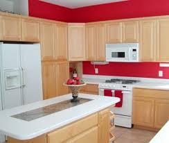 maple cabinet white countertop