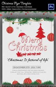 Christmas Flyer Templates 88 Christmas Flyer Templates Psd Ai Illustrator Word