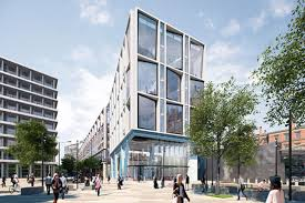 google office in uk. vision for the future: google is building a £1bn super office up to in uk c