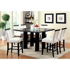 furniture of america luminate contemporary 9 piece illuminating counter height dining set hayneedle