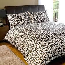 printed duvet covers uk animal duvet covers nz animal print duvet covers king size dreamscene leopard