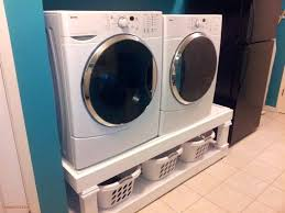 washer and dryer pedestal plans awesome washer pedestal washer dryer stand woodworking plans diy washer dryer washer and dryer pedestal