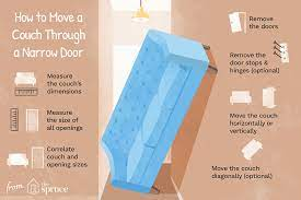 How To Move A Couch Through A Narrow Door