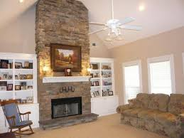 Stacked Stone Fireplaces Here Is A Floor To Ceiling