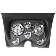 direct fit camaro firebird 67 68 3 3 8 2 1 16 6 pc gauge kit camaro firebird 67 68 tach mph