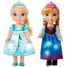 disney frozen anna elsa set kids