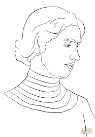 Small Picture Helen Keller coloring page Free Printable Coloring Pages