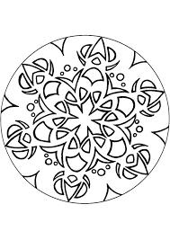 Mandala Kleurplaten Bloemen Cg28 Belbininfo