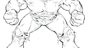 Printable Hulk Coloring Pages Incredible Hulk Coloring Pages