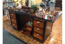 nautical office furniture. Captain\u0027s Office Desk Black Wooden Nautical Maritime Furniture L