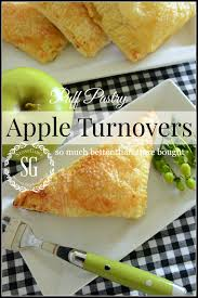 puff pastry apple turnovers stonegable