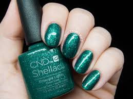 Shellac Emerald Lights Cnd Shellac Startstruck Collection And Creative Play