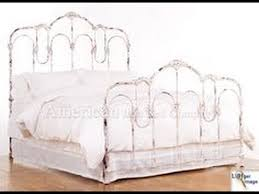 Classic Wrought Iron Bed Frame - YouTube