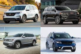 most affordable new 3 row suvs for 2019