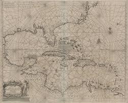 Chart Of Caribbean Islands