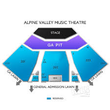 Alpine Valley Seating Map Related Keywords Suggestions