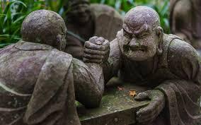 Free Images : monument, statue, green, jungle, autumn, monk, japan, leaves,  sculpture, art, temple, kanagawa, carving, kawasaki, joukeijitemple,  armwrestling, monkfighters, monksatfight, armwrestlers, monks, mythology,  ancient history 5680x3550 ...