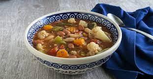 instant pot vegetable soup fatfree
