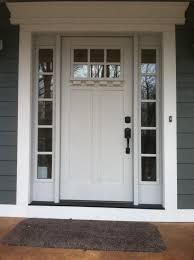 craftsman collection fiberglass front entry door