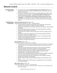 Sample Resume For Sales Manager Resume Examples Templates Awesome