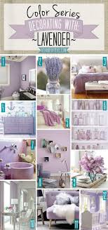 color series decorating with lavender purple lilac lilacs and