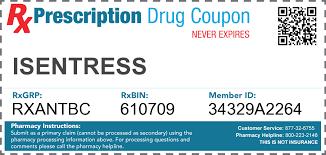 isentress antibiotics isentress hd copay card