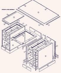 wood desk design plans