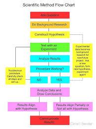 Scientific Method Flow Chart Art Print