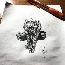 Expression Art веном Venom татуировка татуекб тату